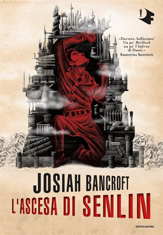 "Copertina ""L'ascesa di Senlin"", di Josiah Bancroft"