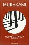 Copertina Norwegian Wood di Murakami